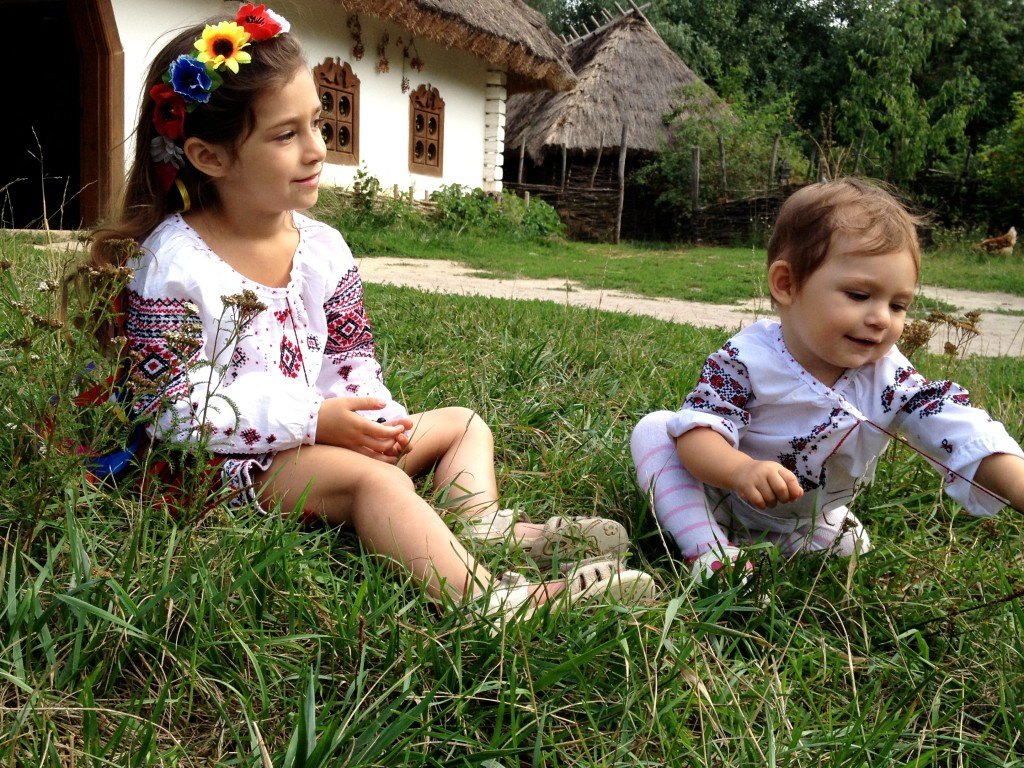 don   t dress my girls in traditional Ukrainian clothing everyday    Ukrainian Everyday Clothing